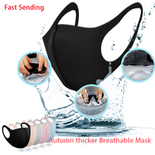 Mouth-Mask Face-Breathing-Mask Anti-Dust Elastic Washable Adults Cotton Fashion for Earloop