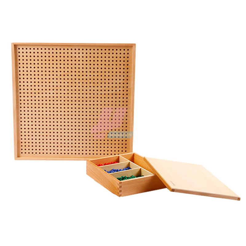 Монтессори материал Математика стандартная версия игры Монтессори Обучающие деревянные игрушки - 4