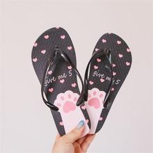Women Slippers Beach Summer flip flops women home slippers  Soft PVC Slip-on Shoes Woman Fashion Slides