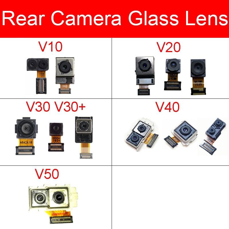 Front & Rear Camera Module For LG V10 V20 V30 V40 V50 Main Back Big And Facing Small Camera Flex Ribbon Cable Replacement Repair