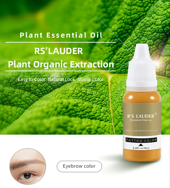 R'S Lauder Micropigment For Professional Eyebrow Tattoo Artist 3 Pieces Best Quality Tattoo Ink Best Sell Easy Coloring