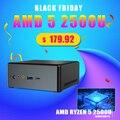 Topton Топ продажа мини ПК AMD Ryzen R5 3550H R7 2700U Vega 10 Графический домашний офис игровой ПК Windows 10 3 * дисплей HDMI2.0 DP TYPE-C