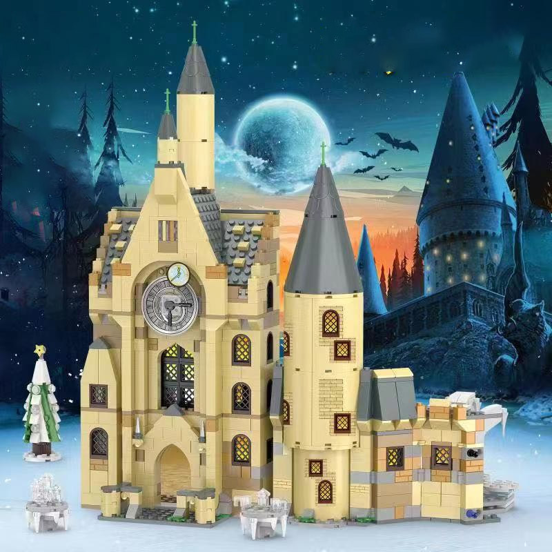983pcs Harri Movie Hogwartsing Building Blocks Brick Educational Toys Compatible Legoinglys 39144 39146 75948 75958 Harri