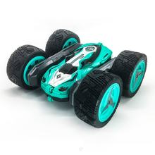 360 Degree Double-sided Rotary Children 2.4g Deformation Remote Control Car Light High Speed Off-road Climbing Car Toy for Kids(China)