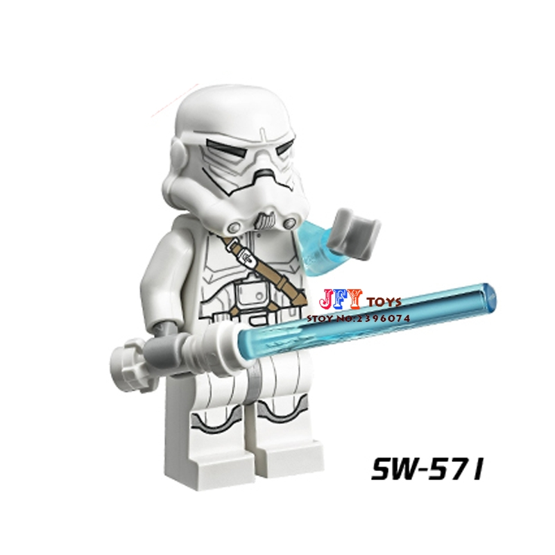 Single Sale Superhero Troops Jek-14 SW571 Building Blocks Model Bricks Toys For Children Action Figures