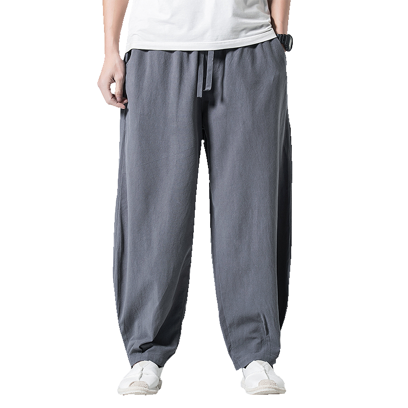 Men Harem Pants 2020 Mens Wide Leg Pants Summer Co