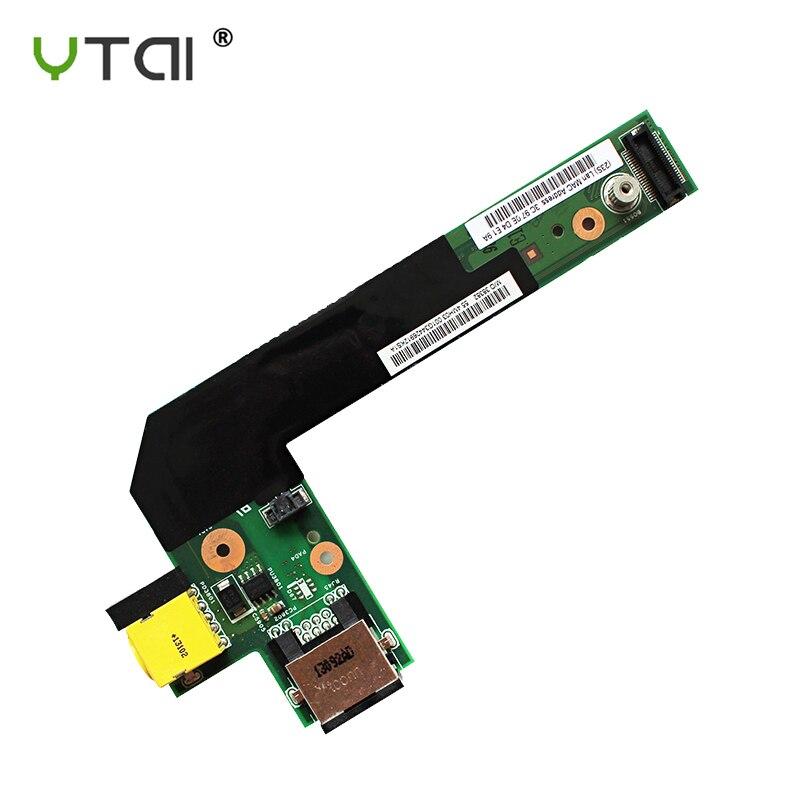 55.4MH03.001 New For Lenovo E420 E425 E520 E525 DC WLAN JACK Ethernet Circuit Board 55.4MH03.001