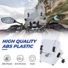 Motorcycle Windscreen Windshield Universal Motorbikes Deflector Adjustable For MT09 MT07 F800GS Z650 Z750 Z800 CBF 500 cb125 FZ6