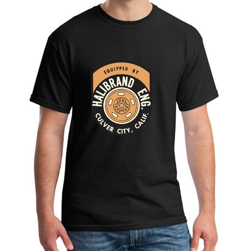 Vintage Race T-shirt Halibrand Eng.