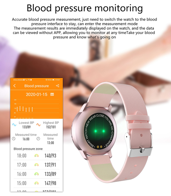 Women Smart Watch Waterproof