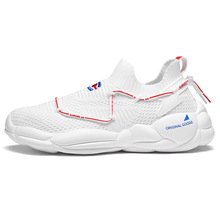 Mens 2019 new summer mens casual shoes low jogging breathable sports sale