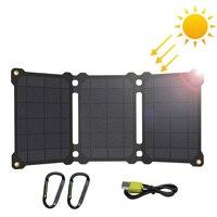 ¿ALLPOWERS paneles solares impermeable cargador de batería Solar para iPhone 7 8 X Xr Xs max Huawei P30 Mate 30 Pro Samsung Xiaomi 10 etc.?