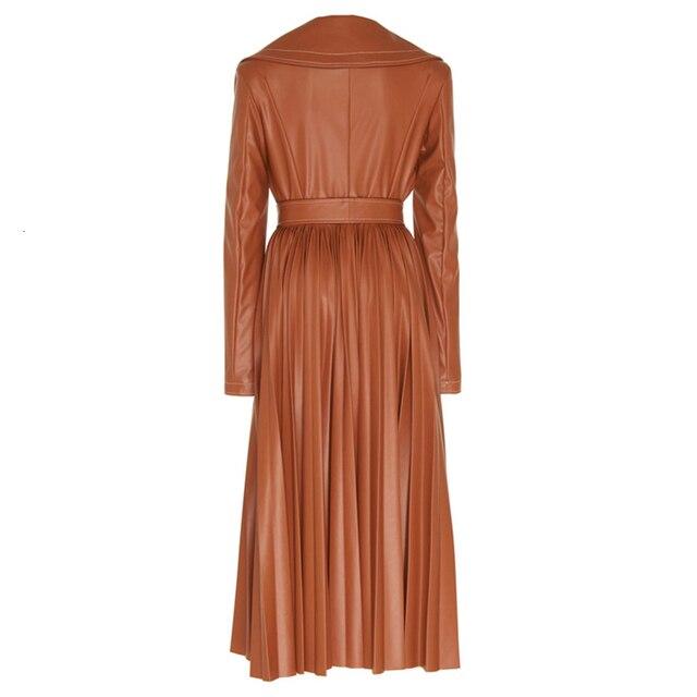 Women's Long Coat - Sugar Almond - 2 Colors 5