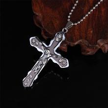 Ожерелье с подвеской blaike в стиле панк Иисусом для женщин