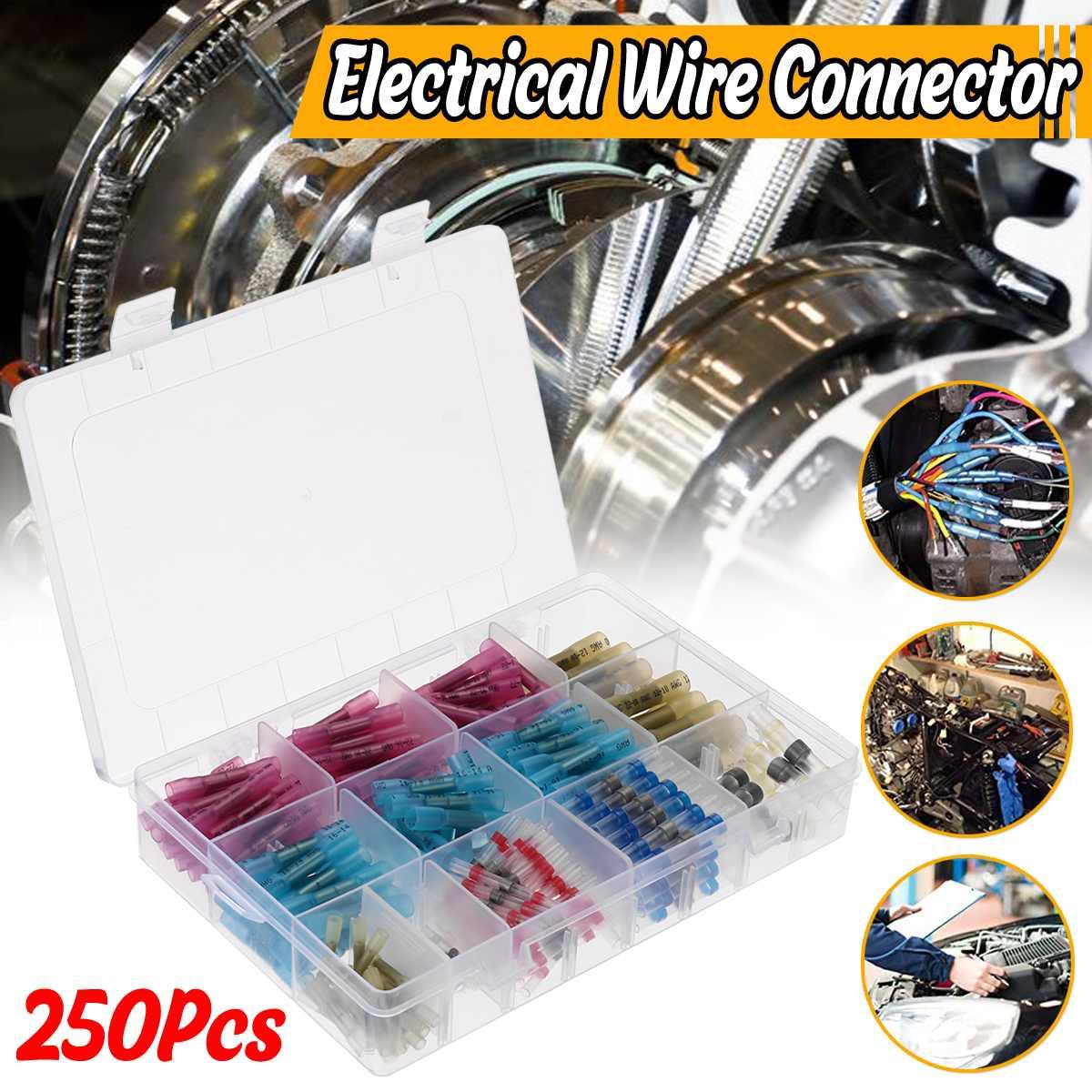 400PCS Shrink Tubing Assorted 2:1 Insulation Sleeve Wrap Wire Heat Shrink Tube
