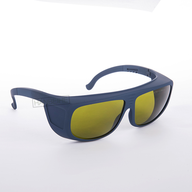 IPL Safety Glasses And Goggles Marked  IPL-3 (190-2000nm) CE With Big Frame For IPL Laser Machines