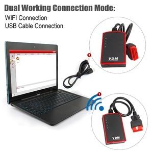 Image 2 - UCANDAS VDM OBD2 Code Reader Full System Wireless Diagnostic Tools for car support Wins Andriod V5.2 Lifetime Free Update Online