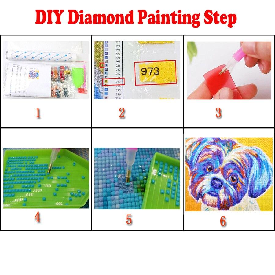 5D DIY Diamond Painting Nine Koi Fish Full Square Drill Rhinestone Patterns bead Embroidery cross stitch Mosaic diamond round