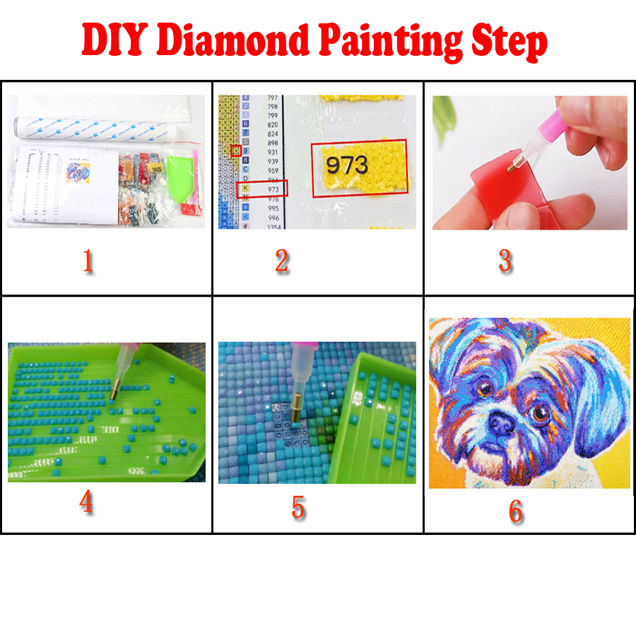 Full Drill square Diamond Painting Religion Buddha Zen Large DIY 3D Embroidery Rhinestone Pictures Mosaic diamond round