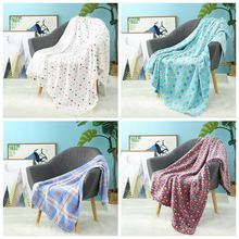 i-baby Large Kids Blanket 3D Print Soft Baby Flannel Luxury Newborn Stroller Blanket Infant Wrap Cozy Toddler Blanket 120x150cm(China)