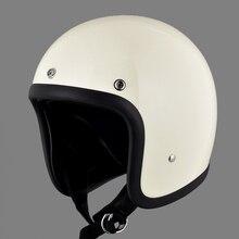 Мотоциклетный шлем стекловолокно 3/4 половина шлем Япония TT& CO мотоциклетный шлем в стиле ретро capacete da motocicleta