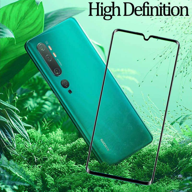 2-in-1 Glass Case for Mi-Note-10 Screen Protector Tempered Glass Mi CC9 Pro Xiaomi Note10 Redmi Mi Note 10Pro CC9Pro Mi CC 9 Pro