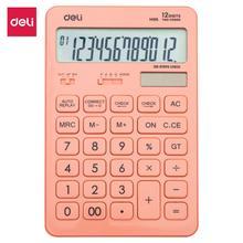 цена на DELI Calculator Plastic-12 digits 120 steps check battery & solar dual power big display EM015