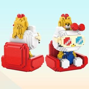 Image 5 - マイクロhcマジックブロック漫画ビルのおもちゃアニメ猫モデルbrinquedosオークションフィギュアのおもちゃ子供のギフト9070