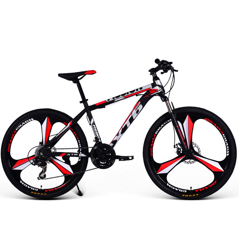 Sports And Entertainment Cycling Bicycle Mountain Bike Adult Men And Women Double Disc Brakes Off Road Shock Bicycle