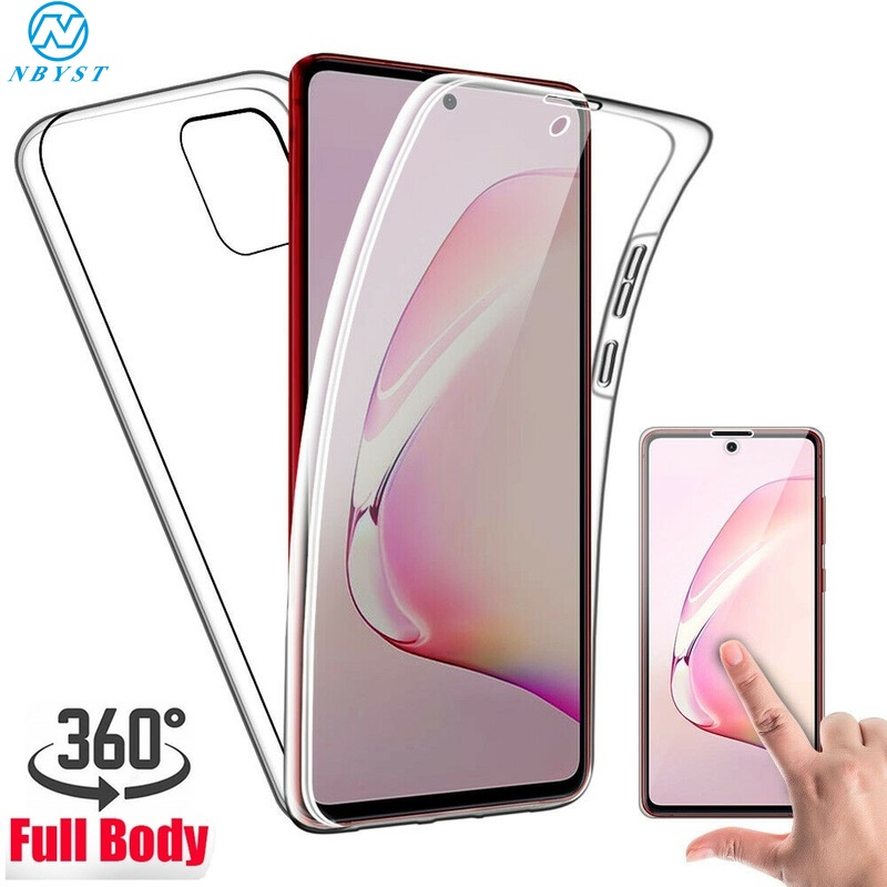 360 Gel Full Cover Clear Case For Samsung A315F A51 A71 A21 A01 M31 M30S M21 Anti-Shock Phone Case For Galaxy A31 A11 A41 Coque