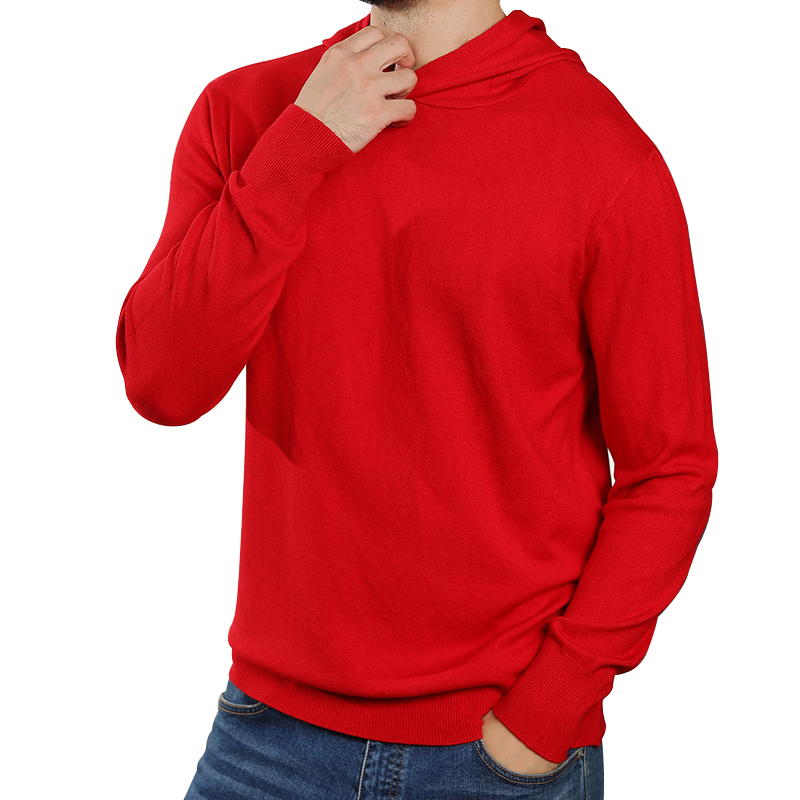 2019 Autumn Sweaters Hooded Sweatshirt Men Cashmere Knitted Pullovers Long Sleeve Jumpers Soft Casual Sweaters And Pullovers