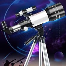 150x telescópio de tempo astronômico profissional para espaço visão noturna lente hd completa gama zoom monocular lua nebulosa acampamento ao ar livre