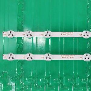 Image 2 - 2pcs x 32 inch LED Backlight Strip Replacement for VESTEL 32D1334DB VES315WNDL 01 VES315WNDS 2D R02 VES315WNDA 01 11 LEDs 574mm