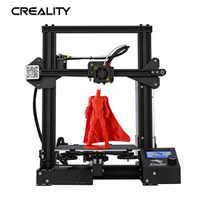 Full Metal CREALITY 3D Ender-3/Ender-3X/Ender-3 Pro Stampante Con La Magia Costruire Piastra di Aggiornamento Vision V-scanalatura 3D Stampante