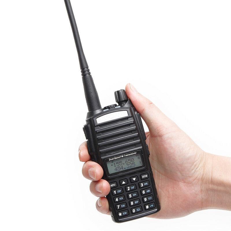 Baofeng UV-82 Plus 5W 1-20KM Long Range Powerful Walkie Talkie Portable CB Vhf/uhf Two Way Radio Amador 5 Watts Of UV82