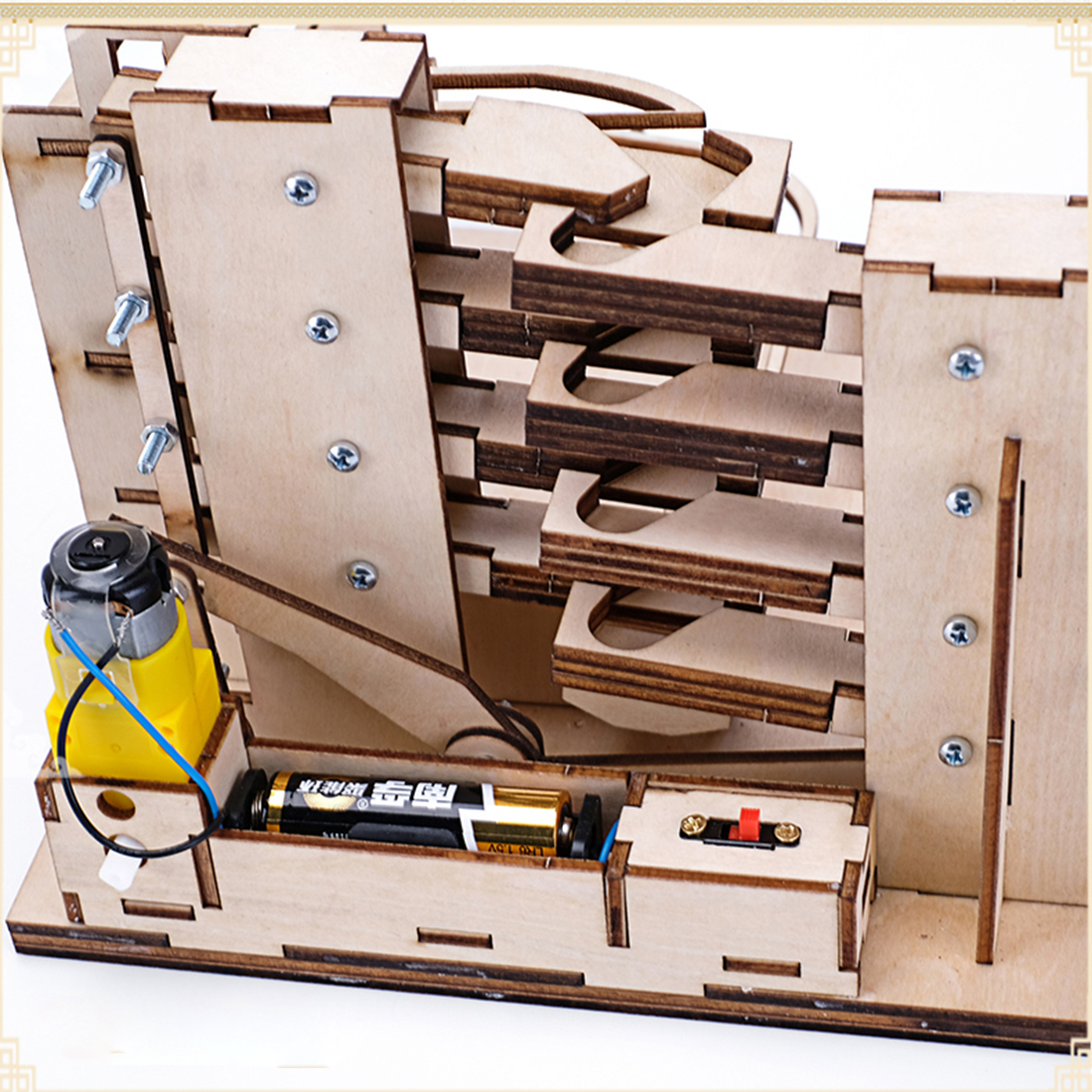 Hecb77877d4d74d4d9fba185936ef30ab3 - Robotime - DIY Models, DIY Miniature Houses, 3d Wooden Puzzle