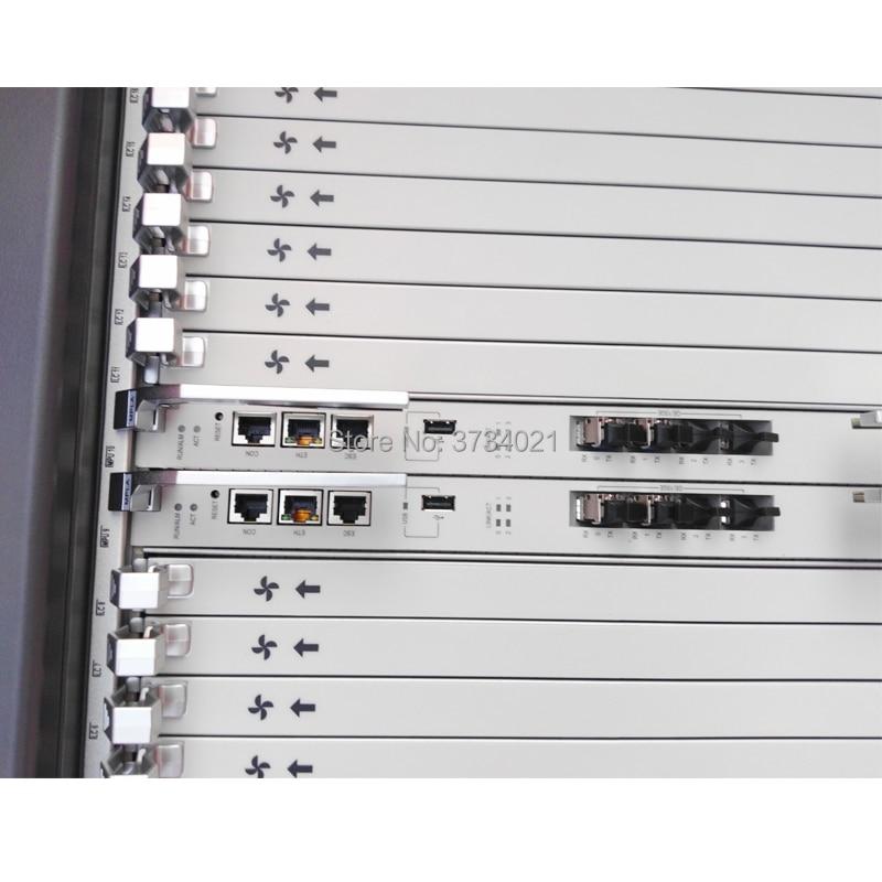 Huawei Gepon Olt MA5800 Supplier Huawei Olt Ma5800 X17 Cahssis +2*MPLA Control Board +2*PILA Power Board +2*GPHF C+ 16 Ports