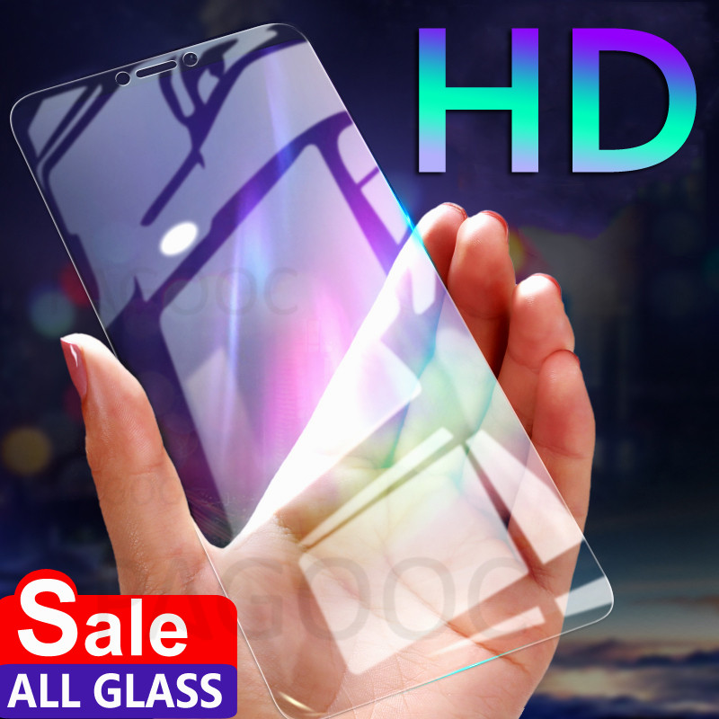 9H HD Tempered Glass For Xiaomi Redmi Note 5 5A 6 Pro S2 Screen Protector Safety Protective Glass On Redmi 5 Plus 5 6 5A 6A Film