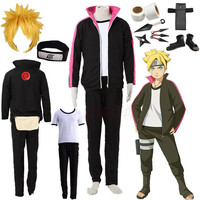 BORUTO Uzumaki Boruto Halloween Cosplay Costume NARUTO THE MOVIE Halloween costumes