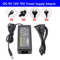 DC5V DC12V DC15V 1A 2A 3A 5A 7A 8A 10A LED Adapter Power Supply For led strip lamp light led power driver with plug