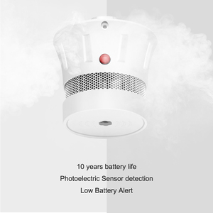 Image 5 - CPVan 3pcs/Lot Smoke Detector 10 Year Battery CE Certified EN14604 Listed Fire Detector Wireless Smoke Sensor for Home Security