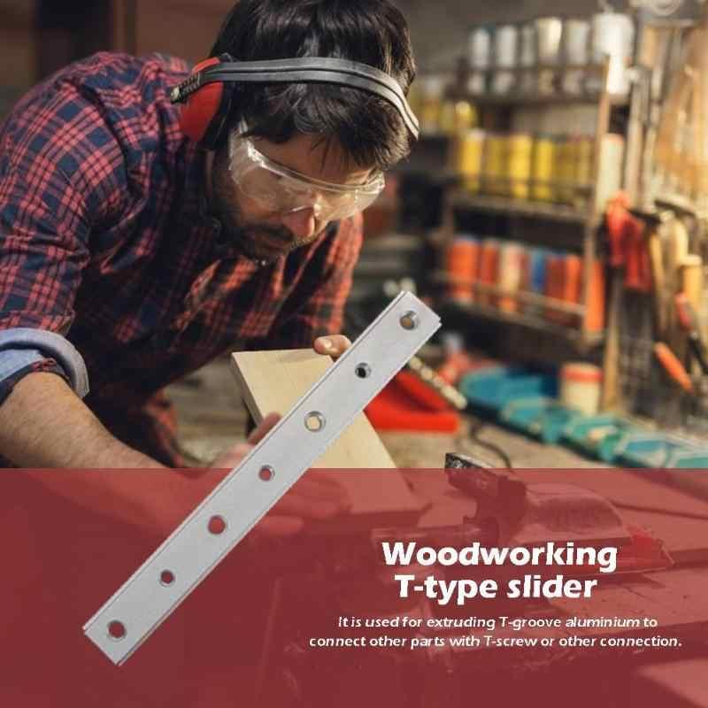 DIY narzędzie do drewna szczelina doskonała i trwała aluminiowa prowadnica ukośna ukośna szyna prowadnicza pilarka stołowa wskaźnik kątowy pręt