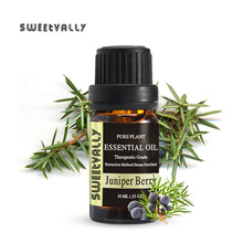 100% Natural Organic Essential Oil for Pain Relief Sleep Aid Anti Stress Juniper Extract Drops Body Skin Care Essential oil peppermint essential oil nourishing skin shrinking pores massage scraping lumbar pain relief relieve body stress skin care
