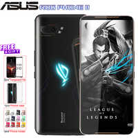 """Global ROM ASUS ROG Phone 2 mobile phone 6.59"""" 8G 128G Snapdragon 855 Plus 2.96Ghz 48MP Android 9 6000mAh NFC gaming phone"""
