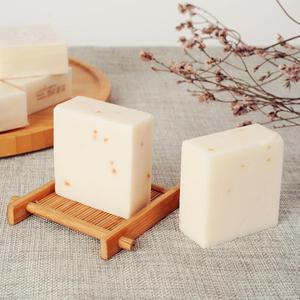 Handgemachte Reis Milch Seife Kollagen Vitamin Haut Bleaching Akne Poren Entfernung Feuchtigkeitsspendende Bleichen Reis Milch Seife