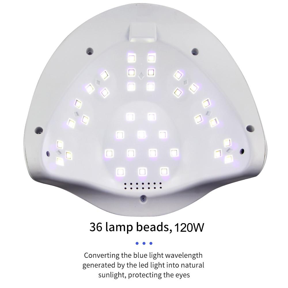 120W SUNX PLUS UV LED Lamp Nail Dryer