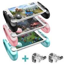 Gamesir f1 joystick grip + f2 botão do disparador do telefone móvel jogo controlador gamepad para pubg chamada de dever l1r1 botão de tiro