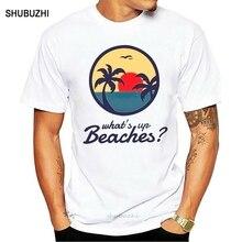 Brooklyn 99 Nine Nine Tv Show What Up Beaches T Shirt Black Size S 3Xl men cotton tshirt summer brand teeshirt euro size