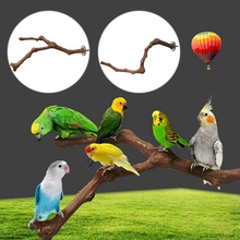 Стоячая палочка для домашних животных, попугай, дикая Виноградная деревянная палочка, попугай для кокатила, кусающая Когтеточка, игрушка дл...