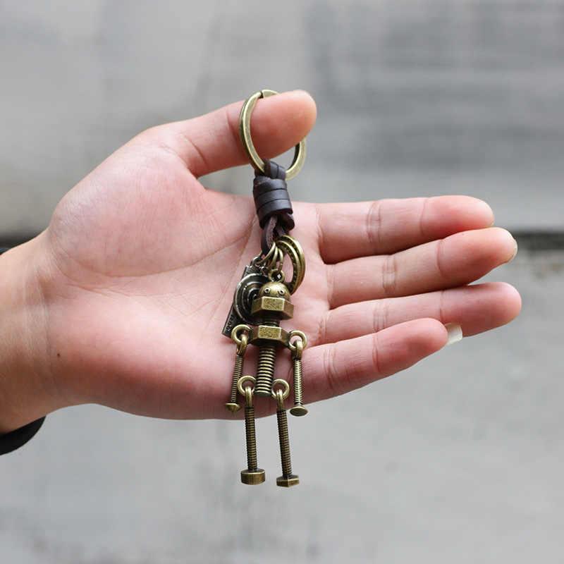 LLavero de bronce antiguo de aleación de coche de moda SIZZZ 2019 europeo y americano para mujer/hombre